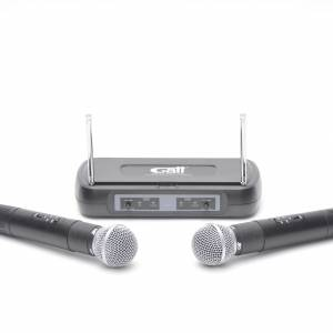 Dubbele draadloze microfoon huren Barendrecht en Rotterdam