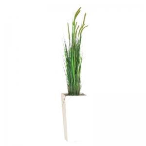 Kunstplant gras met bak 180 cm hoog huren Barendrecht en Rotterdam
