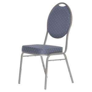 Luxe stoel donker blauw huren Barendrecht en Rotterdam
