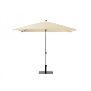 Parasol ecru Ø 350 cm met voet huren Barendrecht en Rotterdam