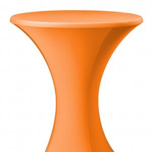 Statafelrok (stretch) oranje huren Barendrecht en Rotterdam