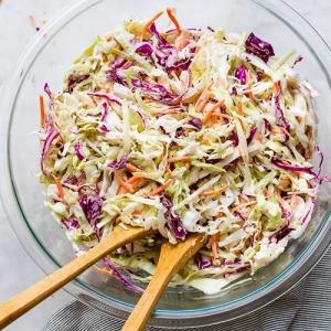 Frisse coleslaw salade p.p. huren Barendrecht en Rotterdam