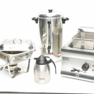 Keuken- en Warmhoudapparatuur huren in Barendrecht en Rotterdam
