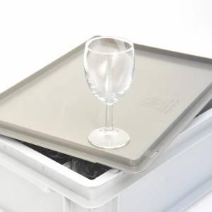 Krat 12 wijnglazen 19.5 cl huren Barendrecht en Rotterdam