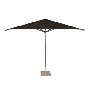 Parasol zwart Ø 350 cm met voet huren Barendrecht en Rotterdam
