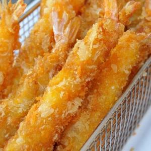 Gefrituurde tempura garnaal met chilisaus p.p. huren Barendrecht en Rotterdam