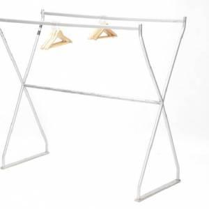 Garderoberek dubbelzijdig 100 hangers huren Barendrecht en Rotterdam