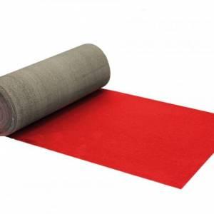 Nieuwe rode loper 1,33m breed, per meter huren Barendrecht en Rotterdam